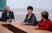 В Таганрогском институте имени А.П.Чехова завершилась серия научно-просветительских семинаров с участием французского литературного деятеля Марка Саньоля