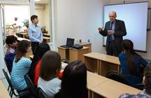 Первое заседание киноклуба Таганрогского института имени А.П.Чехова