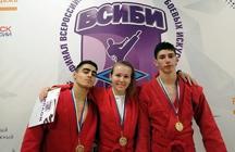 Три золотые медали в копилке наших спортсменов-самбистов, принимавших участие во II Всероссийских студенческих Играх боевых искусств
